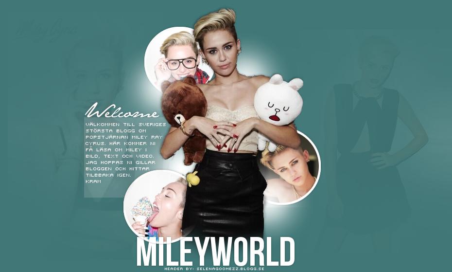 Dagliga uppdateringar om Miley Ray Cyrus!